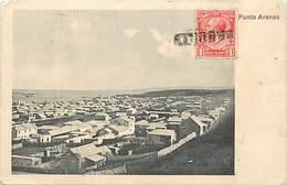 Pays Div -ref N109- Chile - Chili - Puntat Arenas /- Etat : Petit Et Leger Pli Coin Bas Droit De La Carte  - - Chile