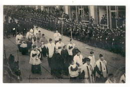 Funérailles Du Roi Léopold II, 22 Décembre 1909.  Le Clergé. - Funérailles