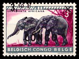 Congo 0407*/H Animaux- Surcharge Déplacée - Belgisch-Kongo