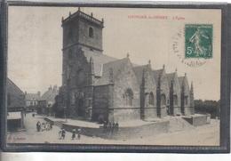 Carte Postale 35. Louvigné-du-Desert  L'église Très Beau Plan - Other Municipalities