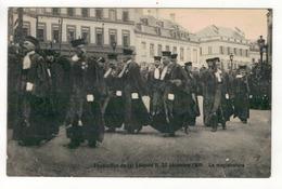 Funérailles Du Roi Léopold II, 22 Décembre 1909.  La Magistrature. - Funérailles