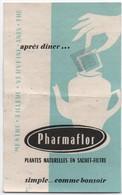Santé -Hygiéne/Pharmacie/PHARMAFLOR/Tableau Des Pesées / Plantes Naturelles/ Vers 1960                           PARF162 - Autres Collections