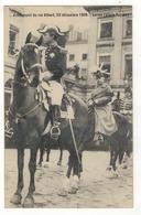 Avènement Du Roi Albert, 23 Décembre 1909.  Le Roi (Place Royale). - Manifestations