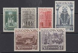 Luxemburg 1938 Hl. Willibrord 6v Mostly * Mh (= Mint, Hinged) 2 Highest Values Are ** Mnh(41259) - Ongebruikt