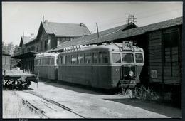 Photo Artur - En Gare De Toulouse - Roguet - Autorail De Dion NL N°7 - Voir 2 Scans - Trains