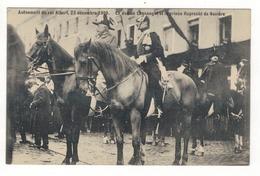 Avènement Du Roi Albert, 23 Décembre 1909.  Le Duc De Connaught Et Le Prince Ruprecht De Bavière. - Manifestations