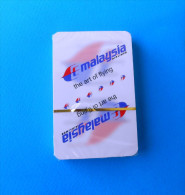 MALAYSIA AIRLINES ( Complette Set Of Playing Cards ) * MINT In Original Packgaging * Jeu De Cartes Campaigne Aerienne - Playing Cards