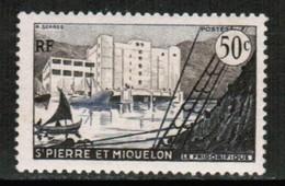 ST.PIERRE & MIQUELON   Scott # 347* VF MINT LH (Stamp Scan # 431) - St.Pierre & Miquelon