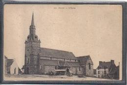 Carte Postale 35. Guipry  L'église  Très Beau Plan - France