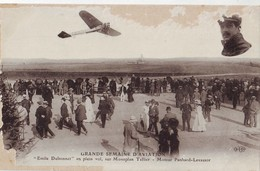 34  AB CPA Dubonnet Sur Monoplan Tellier - Aviateurs