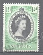 Nigeria 1953 Yvert 75, Coronation Queen Elizabeth - MNH - Nigeria (1961-...)
