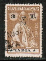 PORTUGESE INDIA   Scott # 369 F-VF USED (Stamp Scan # 431) - Portuguese India