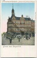 Berlin - Köpenick - Schlossplatz - Rathaus - Straßenbahn - Verlag Richard Schön Cöpenick - Köpenick