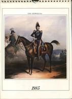 Calendrier 1985 Léopold 1er Et Armée Belge 13 Vues - Calendriers