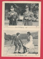 Saint Wolfgand 1945 (Autriche ) - Libération Du Roi Léopold III ,Général Patch ,Prince Baudouin Et Princesse Charlotte - Oorlog 1939-45