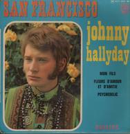 Disque 45 Tours JOHNNY HALLYDAY - 1967 - Rock