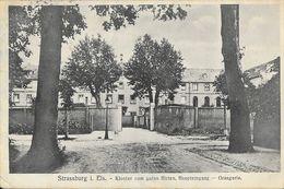F - Strassburg I. Els. - Strasbourg: Kloster Vom Guten Hirten, Haupteingang - Orangerie - Strasbourg