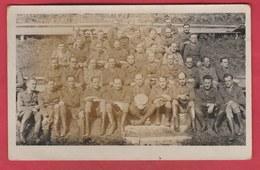 Groupe De Soldats Prisonniers...Oflag XII B (Eichstätt ) Famille Roger Jeremie ...La Louvière - 3 ( Voir Verso) - Oorlog 1939-45