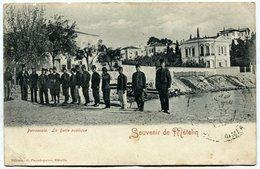METELIN (Lesbos) - Petrascola. La Dette Publique. Ed. Papadopulos - Grecia