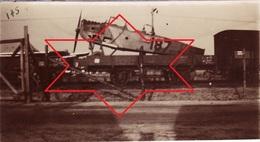 Photo 14-18 Transport D'avion Par Chemin De Fer, Train, Aviation (A202, Ww1, Wk 1) - Oorlog 1914-18