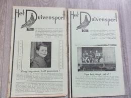 Hove - Het Duivensport   *   11 Maanduitgaves , Jaargang 1948 ( Duivensport - Duiven - Duif - Pigeon - Colombophilie ) - Hove