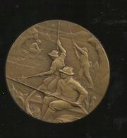 Medaille Bronze  Offert Par St Raphael Quinquina Concourt De Peche  ..5 Cm - Alcools