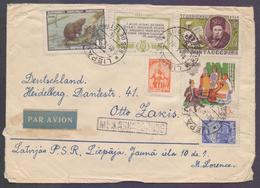 RUSSIA USSR Postal History Cover, Used 1961 - 1923-1991 URSS
