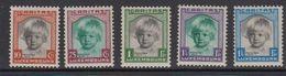 Luxemburg 1931 Caritas 5v ** Mnh (1v Mh) (brown Shadow On Gum) (41264B) - Ongebruikt