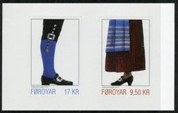 2017 - Fær Øer / FAROER - COSTUMI NAZIONALI / NAT. COSTUMES - SET ADESIVO DA LIBRETTO / ADHESIVE SET FROM BOOKLET. MNH. - Isole Faroer