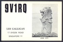 QSL Cards Amateur Radio - Singapore - 6 - Radio Amatoriale