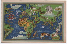 Carte De Mutuelle à Deux  Volets /Mutuelle Des Armées/ Général De Division THOMASSIN/1948       AEC153 - Sonstige