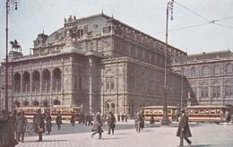 Austria Oostenrijk Wien Opernhaus Tramway - Eisenbahnen