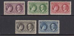 Luxemburg 1927 Briefmarkenausstellung 5v Mh (=mint, Hinged) Very Light Hinged (41264D - Ongebruikt