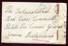 Canada - Enveloppe  De Granville Ferry Pour La Suisse En 1942 Avec Contrôle Postal - N60 - Cartas