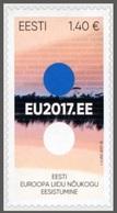2017 - ESTONIA - PRESIDENZA EUROPEA / EUROPEAN PRESIDENCY. MNH. - Estonia