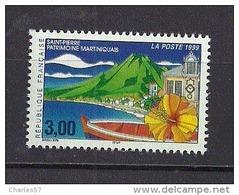 France: N° 3244 ** Saint Pierre, Patrimoine Martiniquais - France