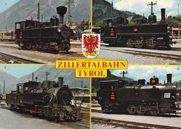 Austria Oostenrijk Zillertalbahn - Treinen