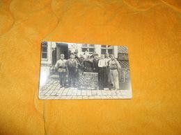 CARTE POSTALE PHOTO ANCIENNE NON CIRCULEE DATE ?.../ CUISINE. VETERANS 134 Cal GRUYER..ANCIENS 314. Cal ORIA...LIEU NON - Regiments