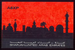 QSL Cards Amateur Radio - Sharjah, United Arab Emirates 1975 - 24 - Radio Amatoriale