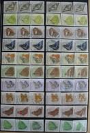België 60 Stamps Vlinders - Papillons - Timbres