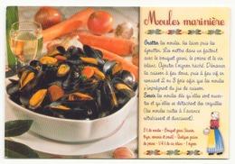 RECETTE LES MOULES MARINIERES - Recipes (cooking)