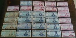 IRAQ IRAK Big Lot Mostly Unc Banknotes Notes Paper Money SADDAM HUSSEIN - Iraq