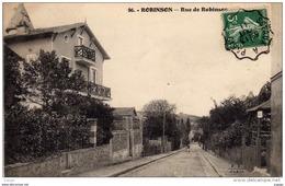 ROBINSON   Rue De Robinson   Carte écrite En 1911  2 Scans - Le Plessis Robinson