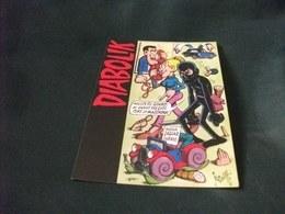DIABOLIK FIRMATO JACOVITTI ILLUSTRATORE PROMOCARD N° 784 - Fumetti