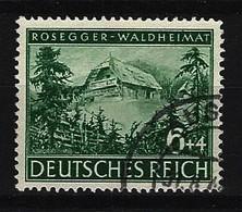 DEUTSCHES REICH Mi-Nr. 855 - 100. Geburtstag Peter Rosegger Gestempelt - Deutschland