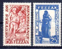30.7.1951; Libye - Fezzan - Bienfaisance; YT No.  54 + 55 / Micheö 58+59;  Neuf **, Lot 50352 - Neufs