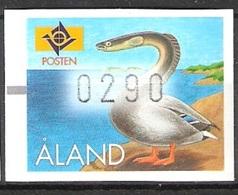 1996 - ALAND - FRANCOBOLLO AUTOMATICO / AUTOMATIC STAMP. MNH. - Aland