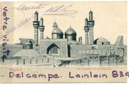 - IRAK - Bagdad - Les Minarets D'or, épaisse De Kaszimain, Rare, écrite, 1906, Précurseur, Cachet, Timbre, BE, Scans. - Iraq