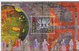 STAMPS - TIMBRES - MACAU / MACAO - 1999 - RETROSPECTIVE -  SOUVENIR SHEET - BLOC AVEC TIMBRE NEUF - MNH - Blocs-feuillets