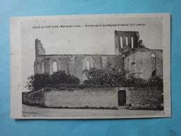 DOUE-la-FONTAINE-Ruines De La Collégiale - Doue La Fontaine